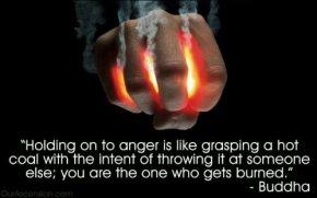 anger hot coal