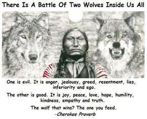 your personal two wolves